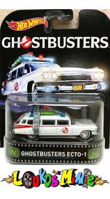 Ecto 1 Ghostbusters Caça Fantasma Hot Wheels Retro Ecto-1
