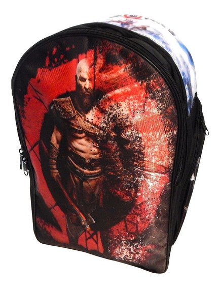 God Of War 4 Mochila Backpack Kratos Atreus Leviathan Axe