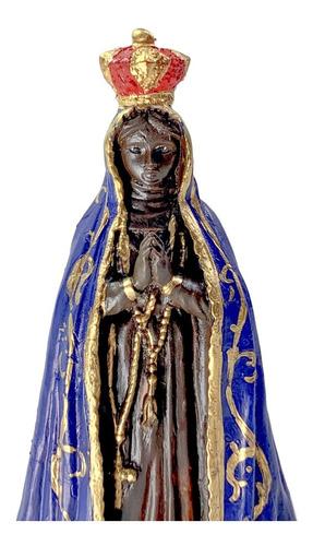 Imagem De Nossa Senhora Aparecida Em Resina Pequena