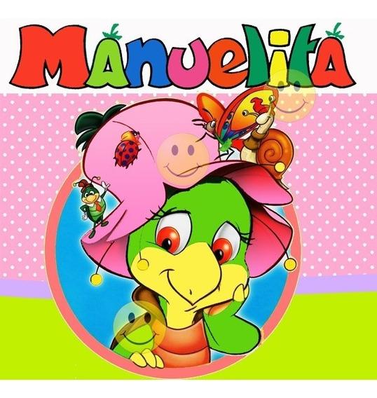 Kit Imprimible De Manuelita La Tortuga Tarjetas - Candy Bar