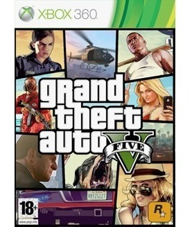 Xbox 360 Gta 5 Mídia Digital