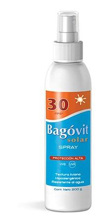 Imagen 1 de 4 de Bagovit Protección Solar Fps30 Spray 200g