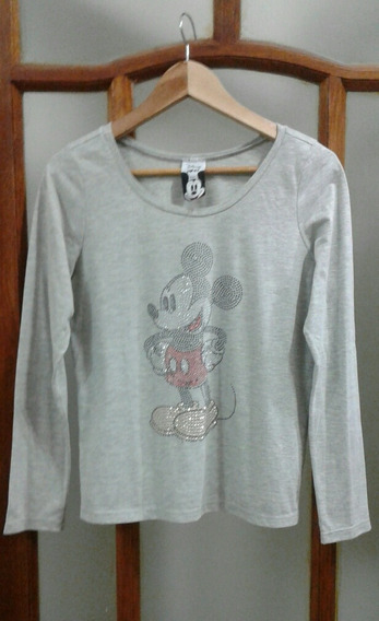 Remera 47 Street Mickey T M Tachita Brillo- Impecable