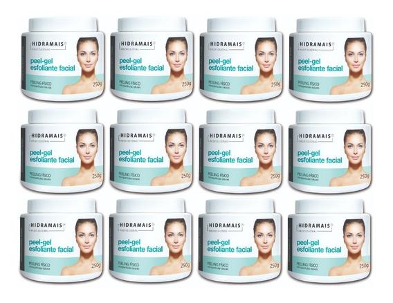 Esfoliante Facial Peel-gel 250g Hidramais - 12 Unidades