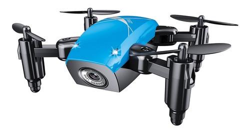 Imagen 1 de 2 de Drone Broadream S9W con cámara HD   blue 1 batería
