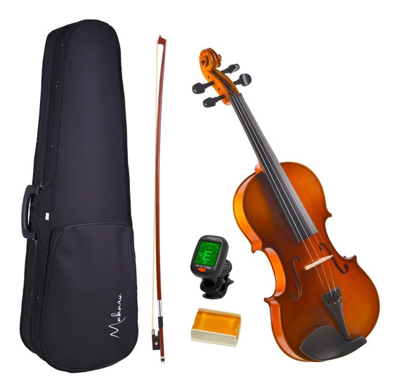 Violino 4/4 Makanu Envernizado + Estojo Breu E Afinador