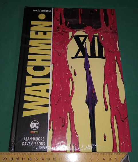 Watchmen Edição Definitiva Capa Dura Em Português Clássico