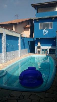 Poá-sp, Vila Monteiro. Casa À Venda, Piscina, 4 Dorm., 4 Vagas. - Codigo: Ca0293 - Ca0293