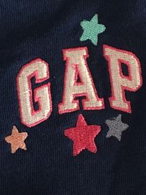 Gap Calça Moletom Menina 3 Anos Com Bordado Original