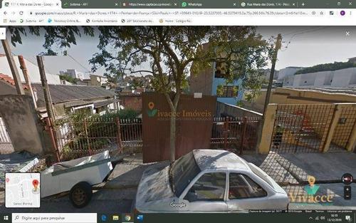 Imagem 1 de 1 de Terreno Residencial À Venda, Penha De França, São Paulo - . - Te0016