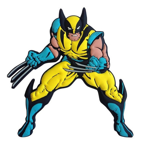 Wolverine Ima Decorativo Em Pvc - Bonellihq E19
