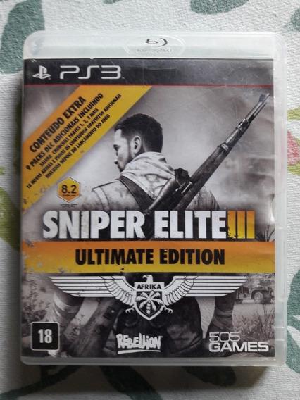 Sniper Elite 3 Ultimate Edition Playstation 3 Português