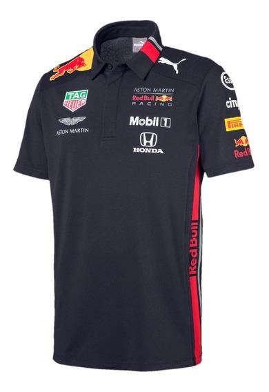 Camisa Polo Puma Aston Martin Red Bull **equipación 2019**
