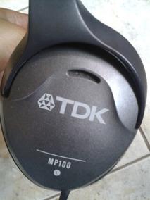 Auscultadores De Cobertura Tdk Mp100