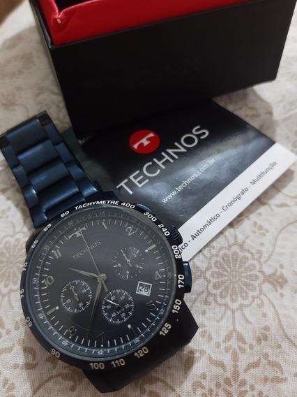 Relógio Masculino Tecnos Skymaster Azul