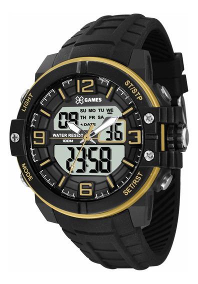 Relógio X Games Xmppa227 Bxpx Masculino Preto - Refinado