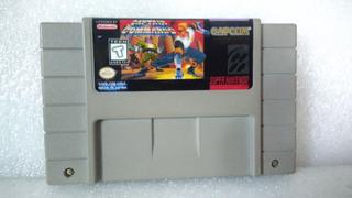 Jogo Capitão Comando Super Nintendo Original