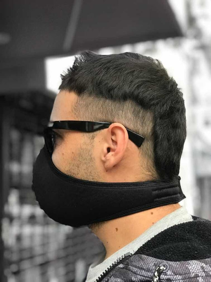 Máscara Protectora De Boca Y Nariz, Símil Neoprene , Lavable