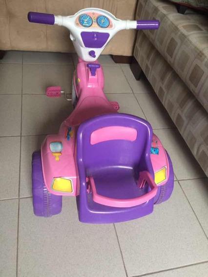 Triciclo Infantil Cor De Rosa