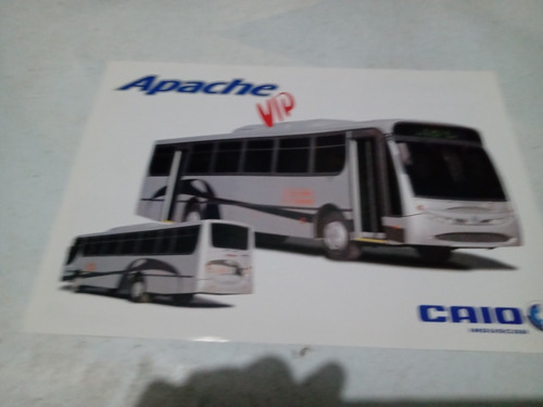 Apache Vip Ônibus Caio Folheto