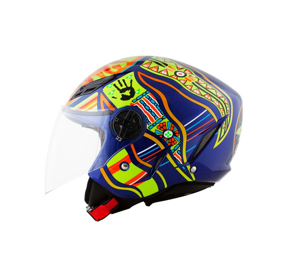Capacete Agv Blade Five Continents Vr46