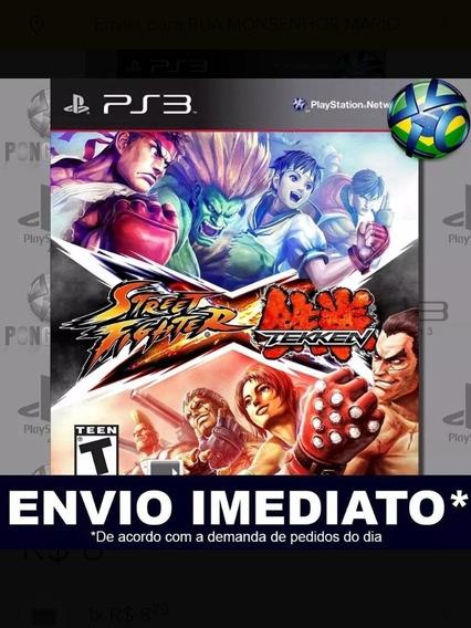 Street Fighter X Tekken B Ps3 Psn Digital