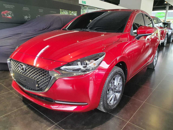Mazda 2 Sedan Touring Rojo Cuero At | 2021