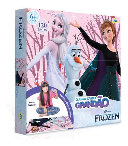 Quebra Cabeça Frozen 2 Ana E Elsa - 120 Peças - Toyster