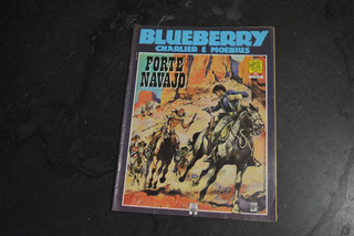 Blueberry Forte Navajo Charlier Moebius Hq Graphic Novel