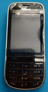 Nokia: Celular Desbloqueado Asha 202 Preto Com Dual Original