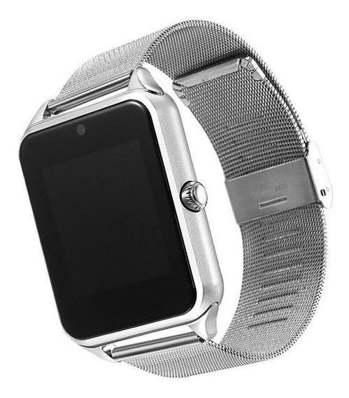 02 Smartwatch Z60 Reloj Inteligente De Lujo Envío Gratis!!!