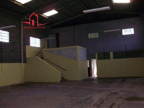 Galpão/pavilhão A Venda No Bairro Vale Verde Em Valinhos - - 494-1