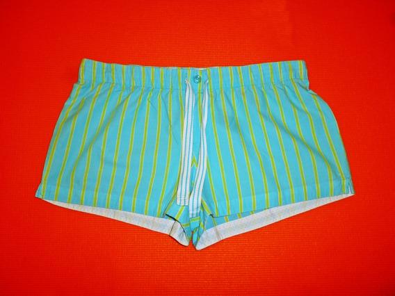 Short Sleepwear Xhilaration Boxer Color Verde Talla Mediana