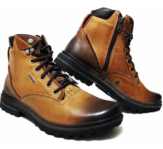Bota Masculina Freeway Tracker Wax Mascavo 2798