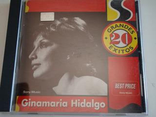 Ginamaria Hidalgo 20 Grandes Exitos Cd Excelente Duncant