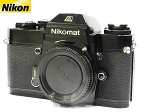 Câmera Nikon Nikomat El Black Reflex Nikon Só O Corpo