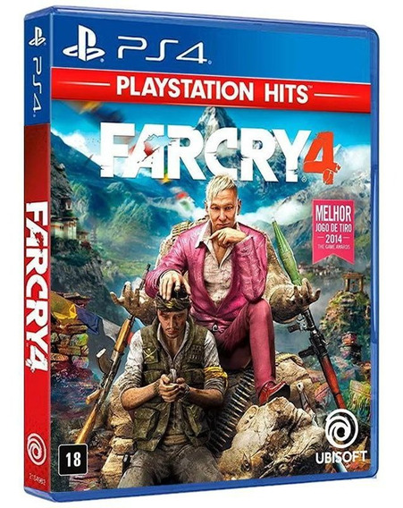 Far Cry 4 - Playstation Hits - Ps4 - Mídia Física E Lacrada