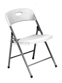 Cadeira Dobrável Maxchief Branca Para Evento Festa Palestra