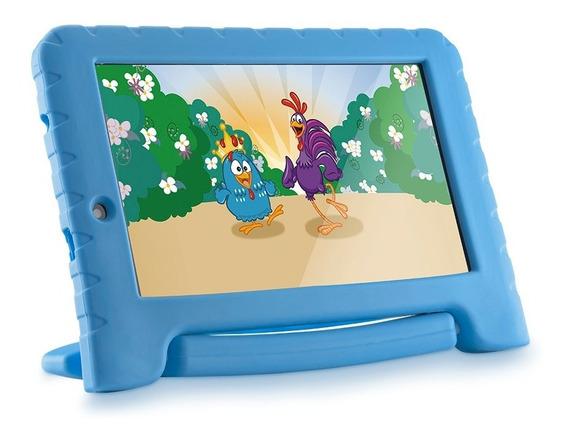 Tablet Infantil Multilaser Galinha Pintadinha Wifi 7pol 16gb