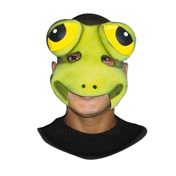 Mascara Sapo Meio Rosto