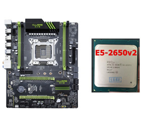 Kit Xeon E5-2650v2 + Placa-mãe Kllisre X79 Lga2011