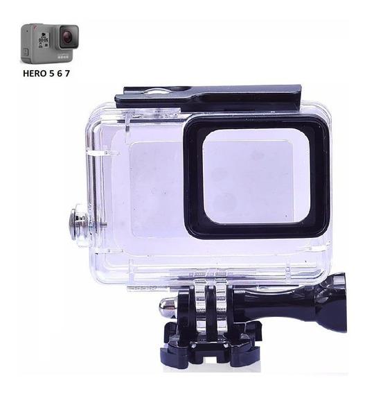 Caixa Estanque Case Câmera Gopro Hero 5 6 Black Hero 7 Black