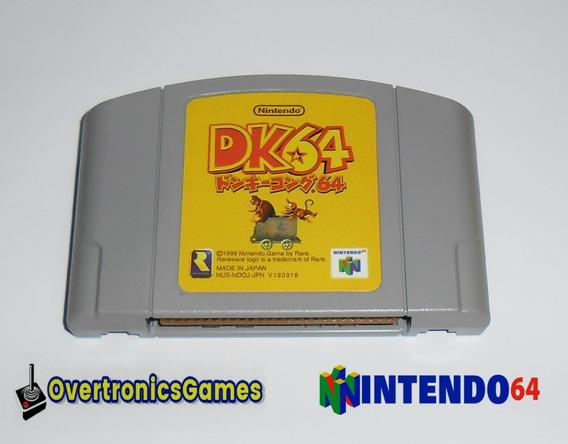 Nintendo 64 Jogo Donkey Kong 64 Original N64