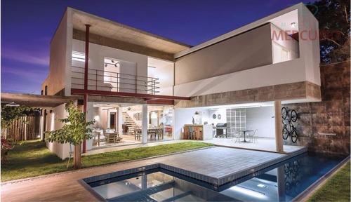 Casa Com 3 Dormitórios À Venda, 330 M² Por R$ 1.750.000,00 - Residencial Lago Sul - Bauru/sp - Ca2197