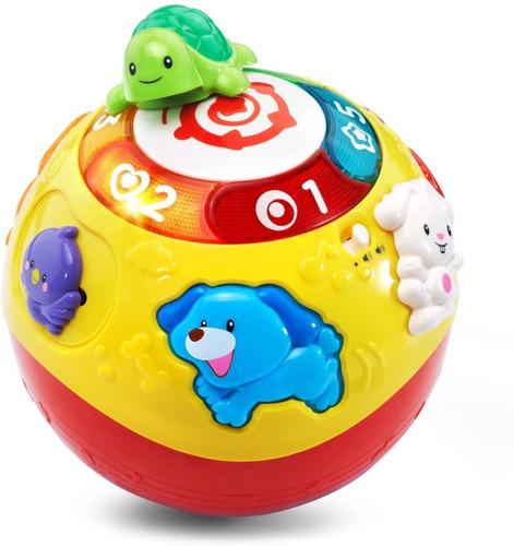 Imagen 1 de 5 de Pelota Interactiva Para Bebe - Bola Didactica Estimulación