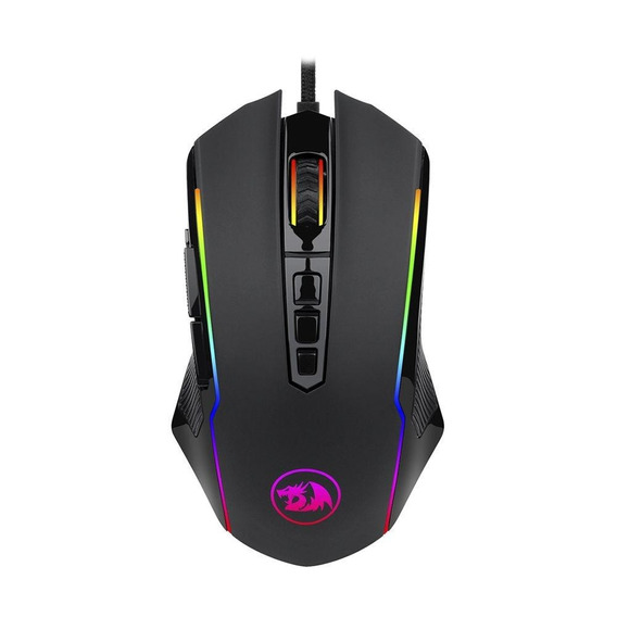 Mouse Gamer Redragon Ranger Rgb 12400dpi Com Fio