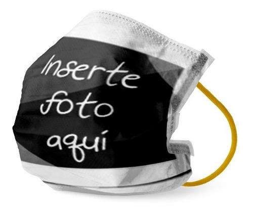 Mockup Barbijo Tapaboca Mascarilla Tela Editable Photoshop
