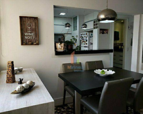 Imagem 1 de 15 de Apartamento Com 2 Dormitórios À Venda, 63 M² Por R$ 345.000,00 - Botafogo - Campinas/sp - Ap0270
