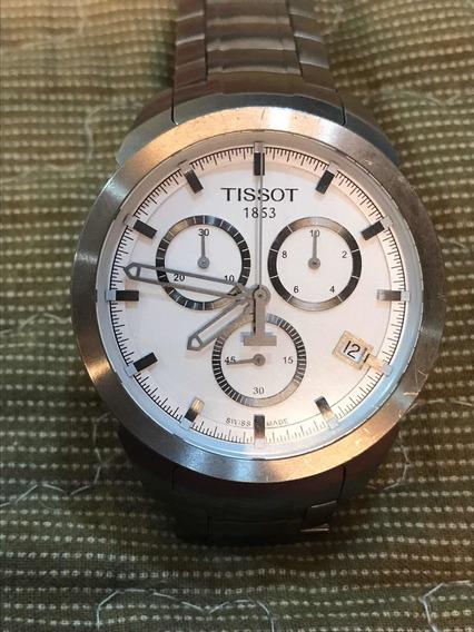 Tissot Chronograph T069417 Titânio Ótimo Estado Quartz