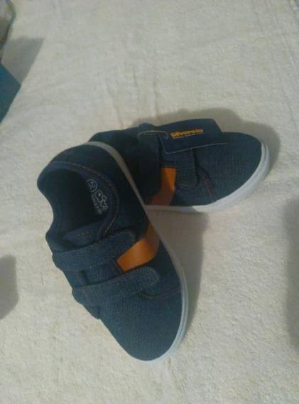 Zapatos Para Niños, Niñas, Tela Jeans, 320mil